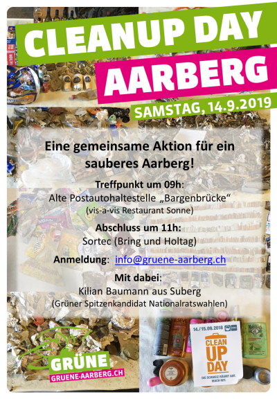 Cleanup Day Aarberg